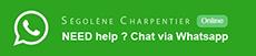 contact Segolene Charpentier What'sapp button