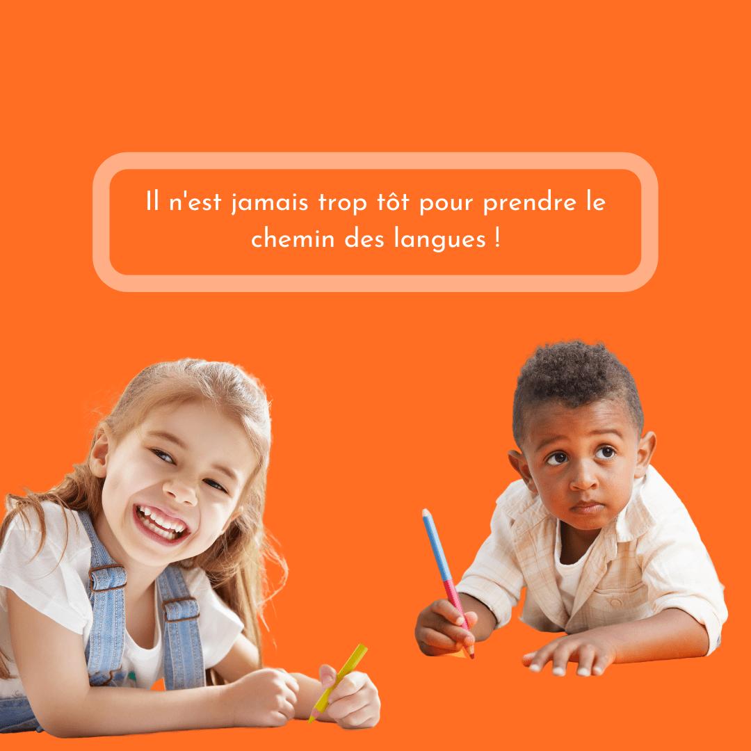 Cours de langues pour enfants Écoles de langues