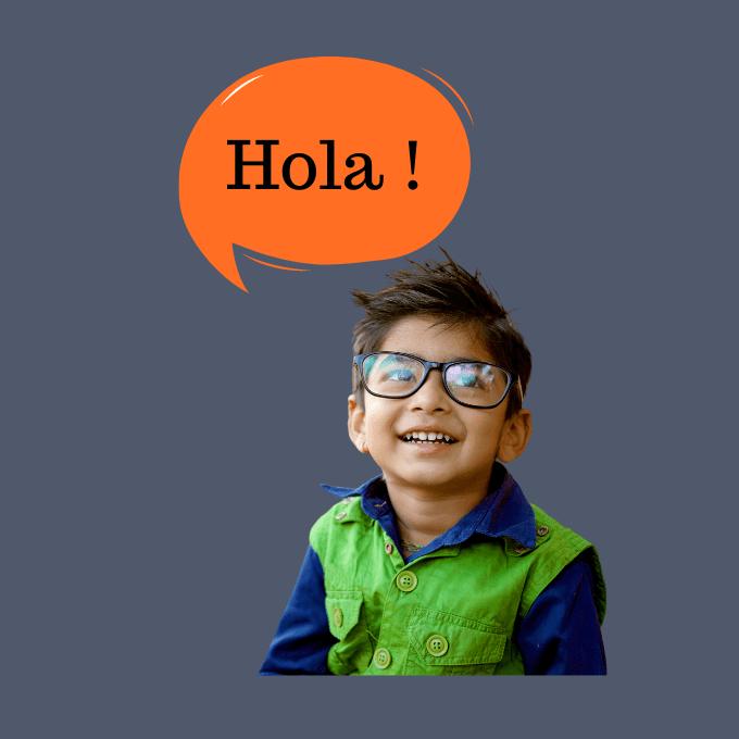 espagnol pour enfants apprentissage de la langue